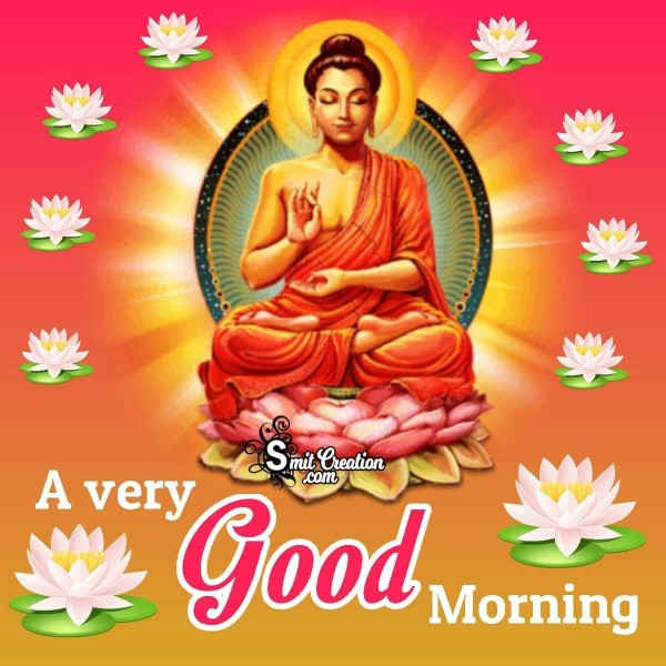 Good Morning Buddha Images