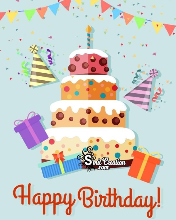 Happy Birthday Cake Greeting
