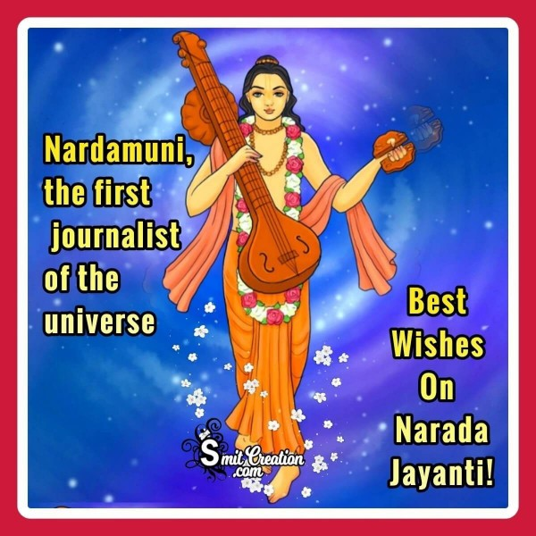 Best Wishes On Narad Jayanti