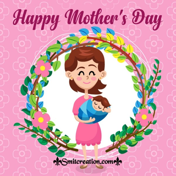 Happy Mother's Day Cute Pink Card