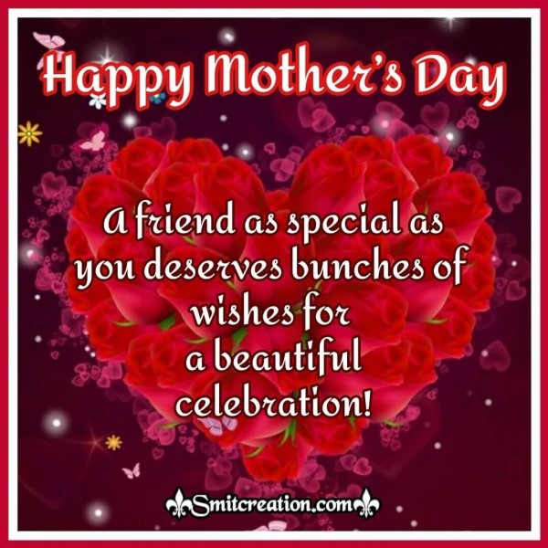 Bunches of Wishes - Happy Mother's Day Card for Friends
