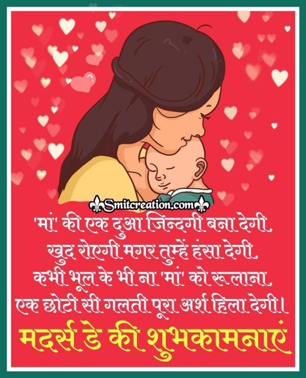 Mother's Day Ki Shubhkamnaye