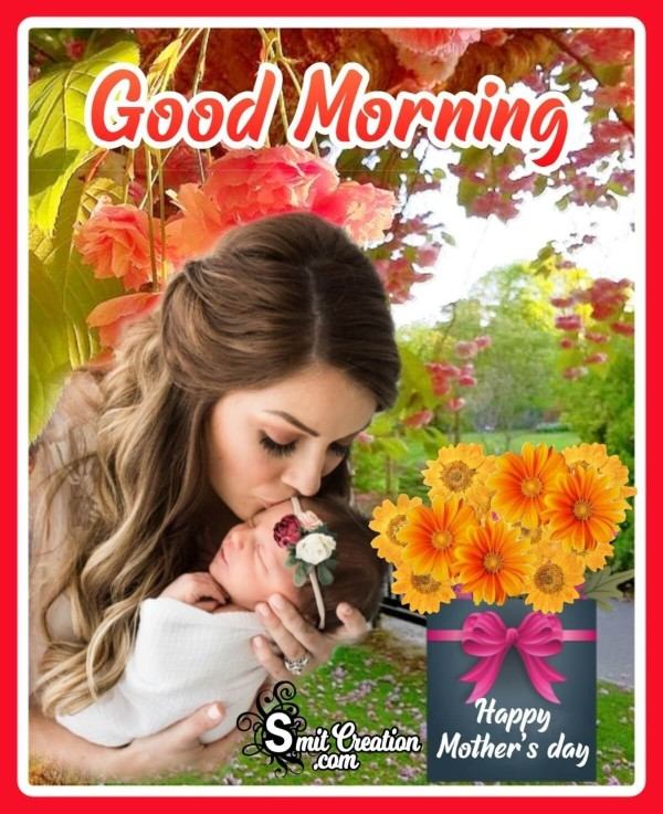 Good Morning Happy Mother's Day Photo Card