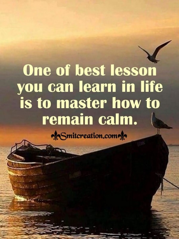One Of The Best Lesson You Can Learn In Life