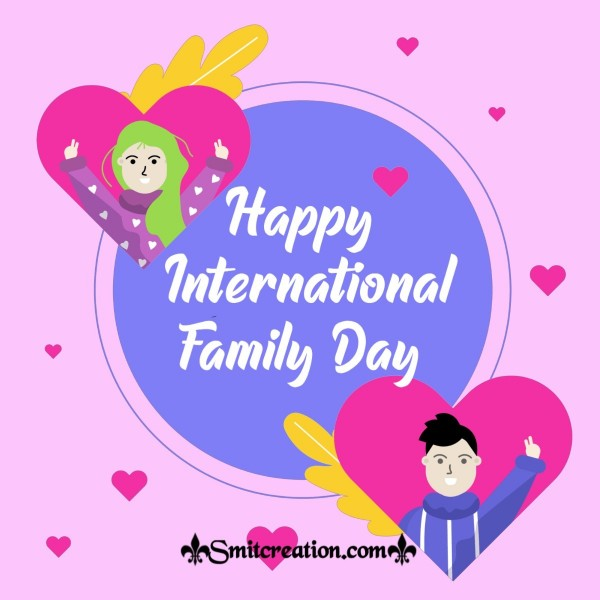 Happy International Family Day Greeting