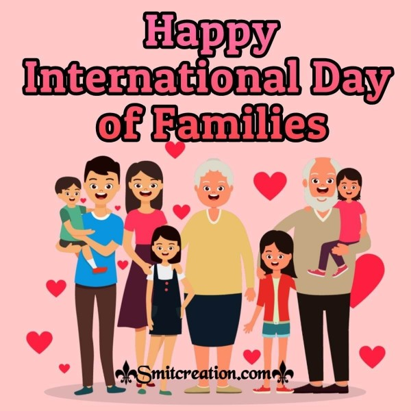 Happy International Family Day Image