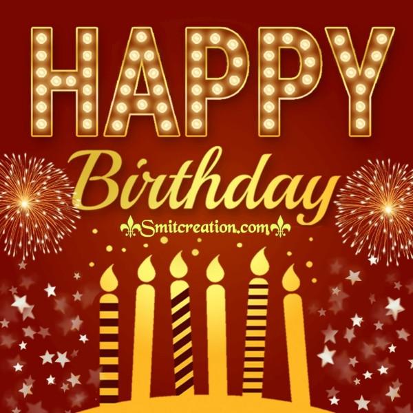 Happy Birthday Sparkling Card