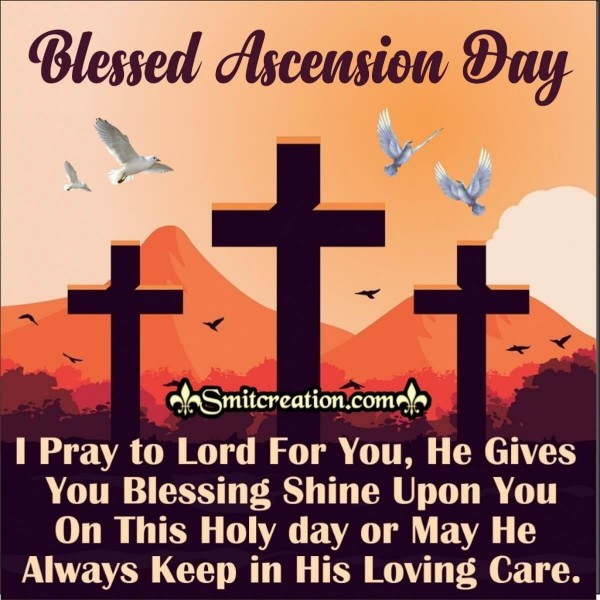 Blessed Ascension Day Quote