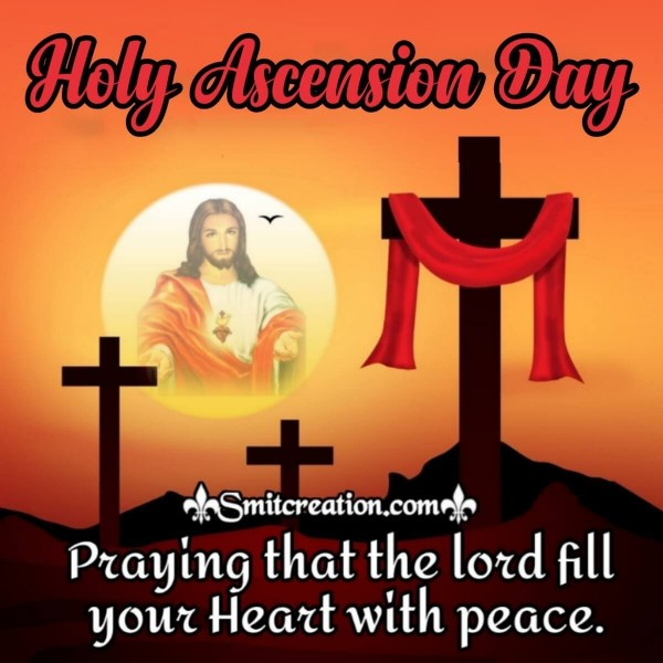 Holy Ascension Day Prayer Card