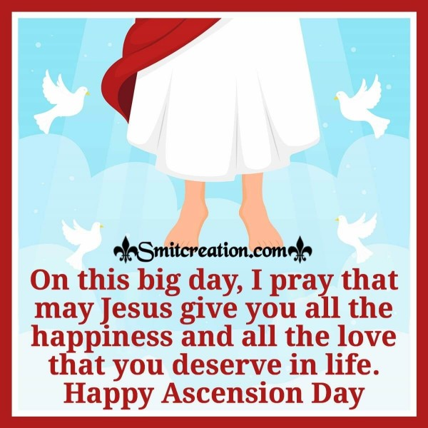 Happy Ascension Day Blessings