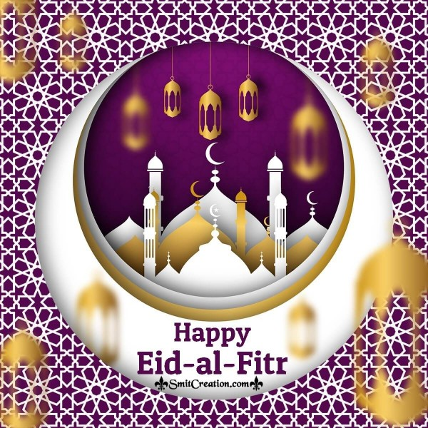 Happy Eid al-Fitr Greeting Card