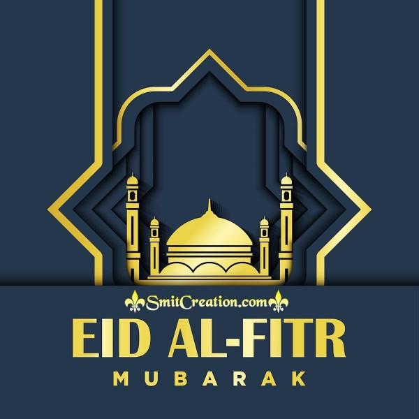 Eid al-Fitr Mubarak Card