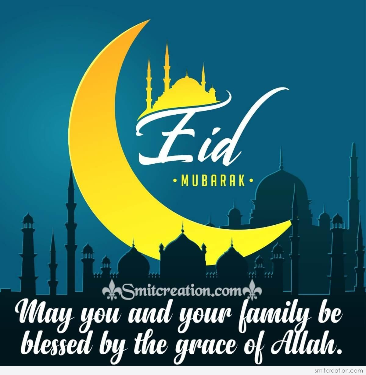 Eid Mubarak To You And Your Family Smitcreation Com