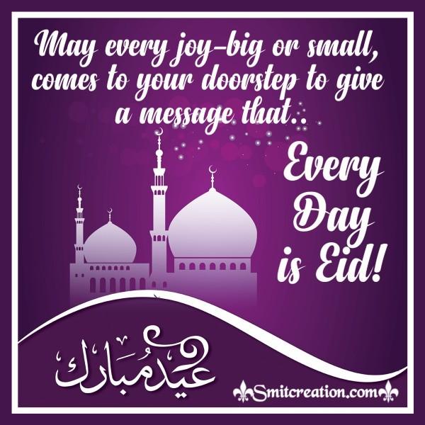 Joyful Eid Mubarak Greeting
