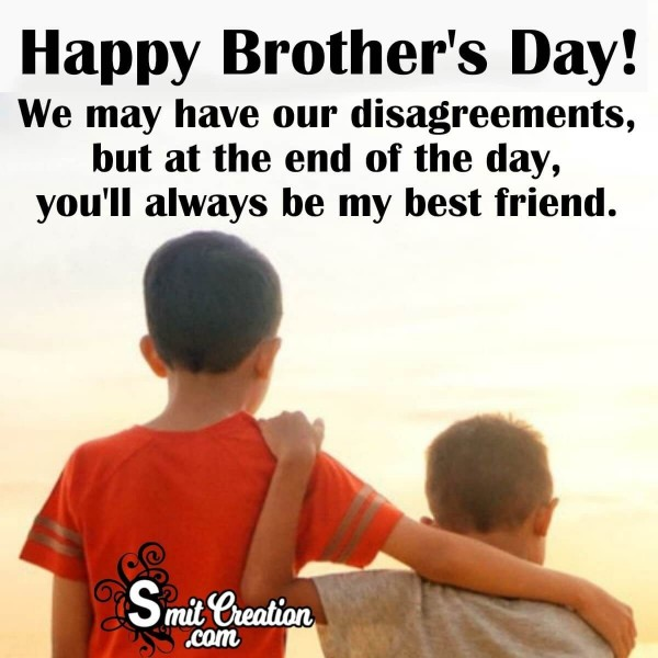 Happy Brother's Day Card For Best Brother
