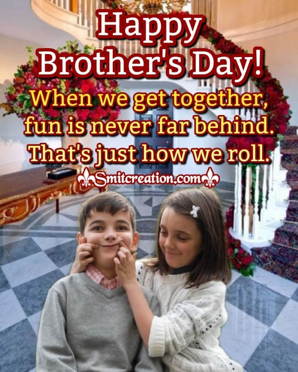 Sweet And Funny Card For National Brother's Day