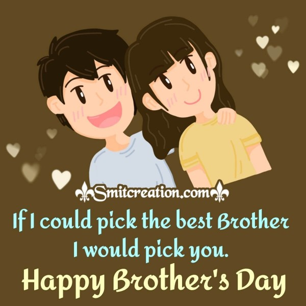 Best Happy Brother's Day Card