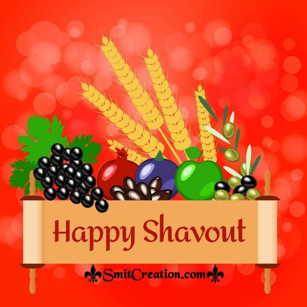 Happy Shavout Card