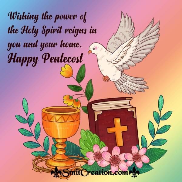 Happy Pentecost Greeting