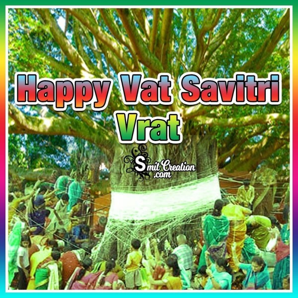 Happy Vat Savitri Vrat Card