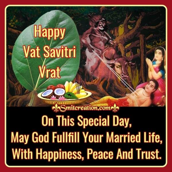 Happy Vat Savitri Vrat Wish