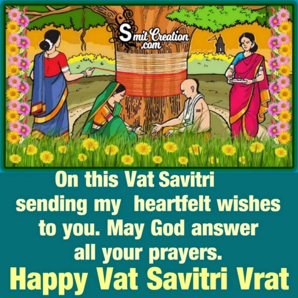 Happy Vat Savitri Vrat Blessings