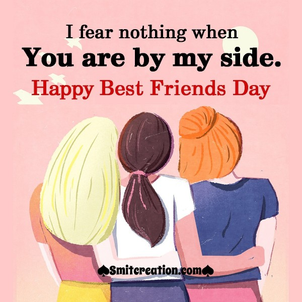 Happy Best Friends Day To Best Friend