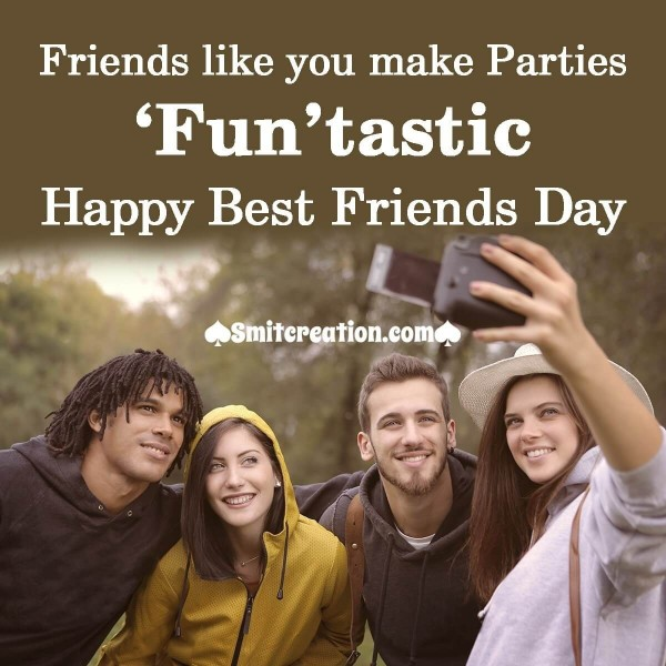 Funtastic Best Friends Day Image