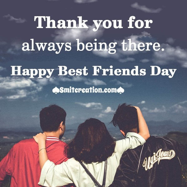 Best Friends Day Thank You Image