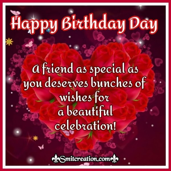 Bunches of Wishes – Happy Birthday Card for Friends