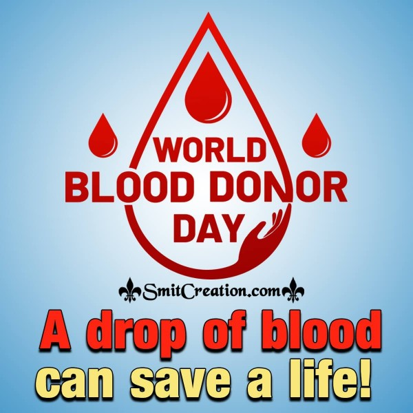 World Blood Donor Day Slogan