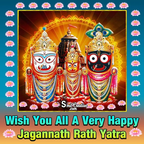 Wish You All A Very Happy Jagannath Rath Yatra