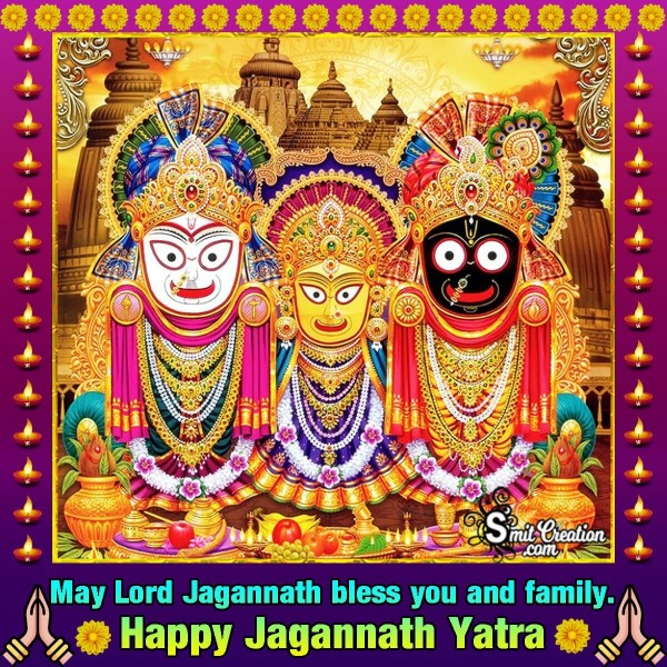 Happy Jagannath Yatra Blessings
