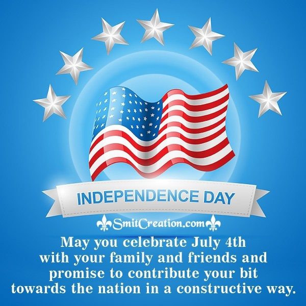 Happy July 4th Wishes To Employees