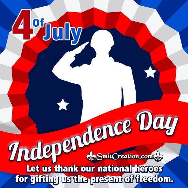 4 Of July Thank You Message For Whatsapp And Facebook