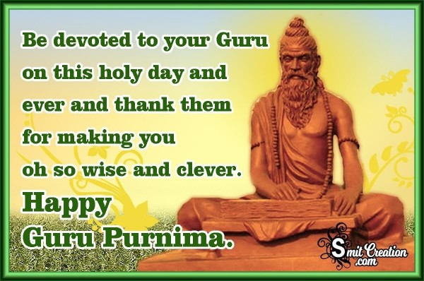 Happy Guru Purnima Quote Image