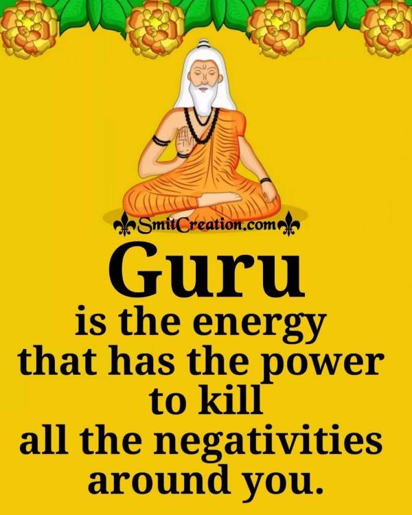 Guru Is The Energy
