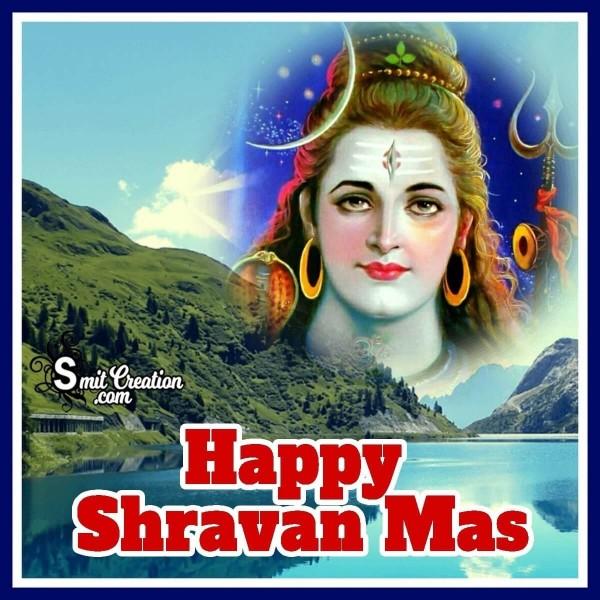 Happy Shravan Mas Shiva Image