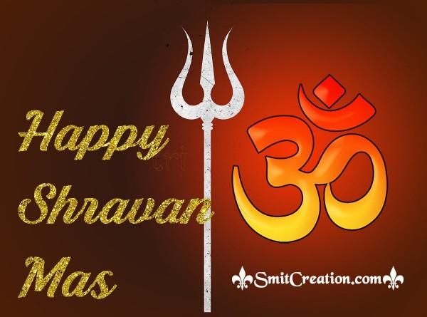 Happy Shravan Mas Om Image