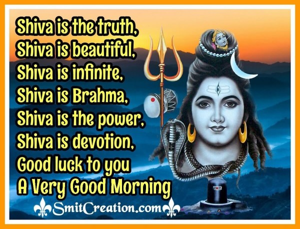 A Very Good Morning Shiva Image
