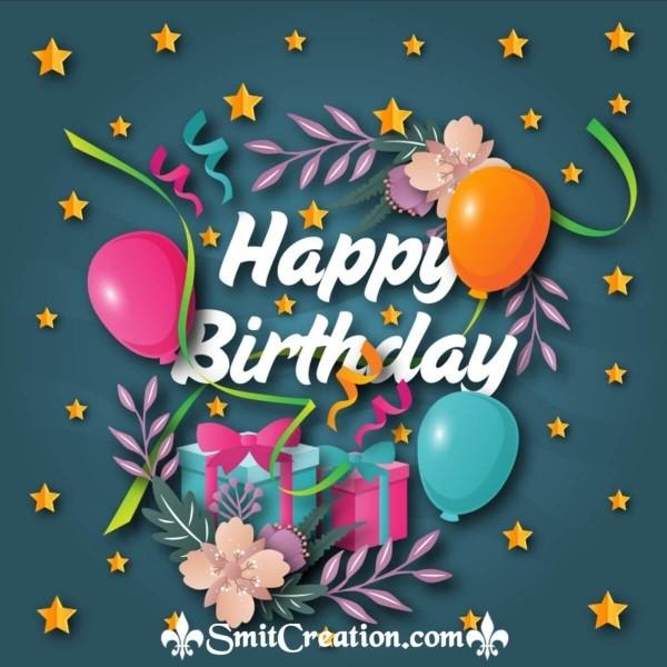 Cute Happy Birthday Greeting Card