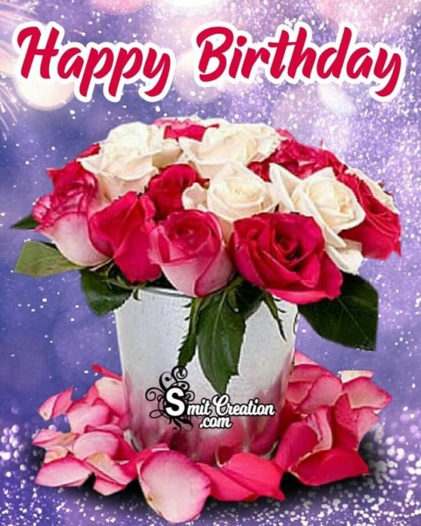 Beautiful Happy Birthday Roses Picture