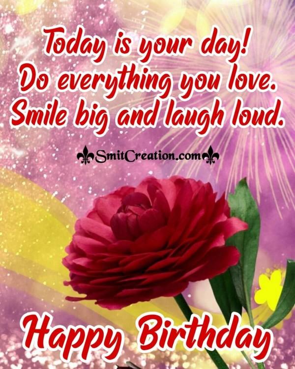 Smile Big! Happy Birthday Card