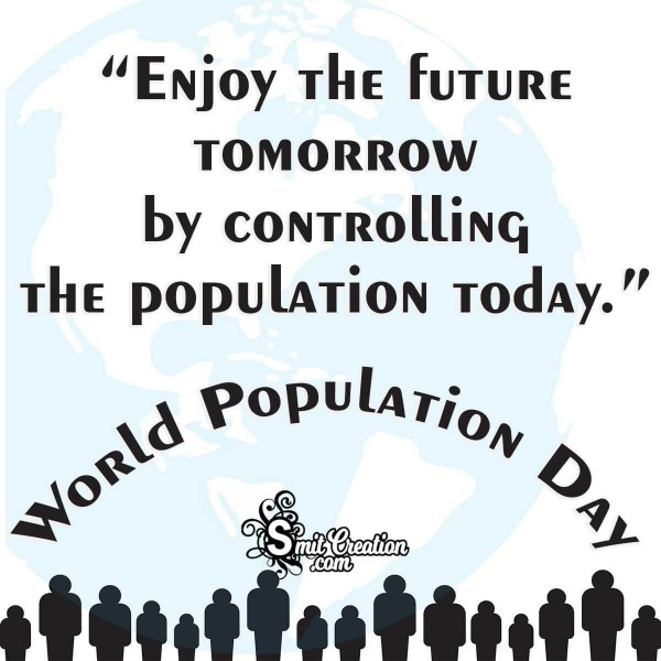World Population Day Slogan Image