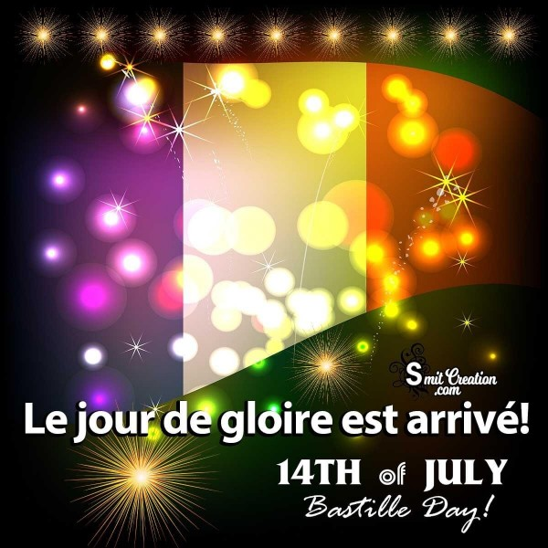 14th july Bastile Day