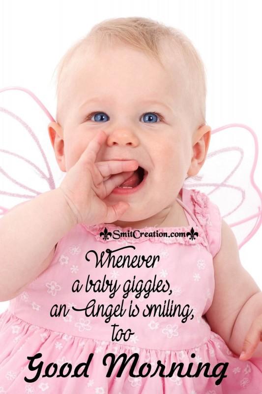 Good Morning Angel Baby Pic