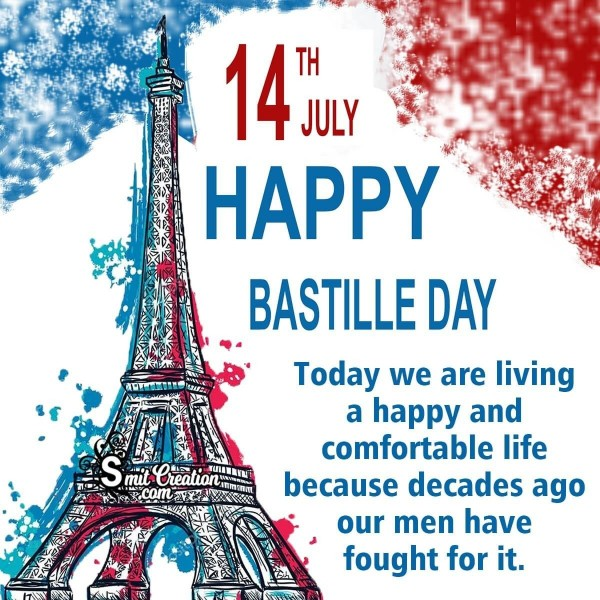 Wishing A Very Happy Bastille Day!