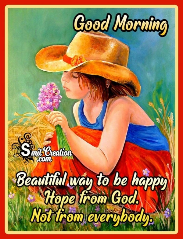 Good Morning Hope From God