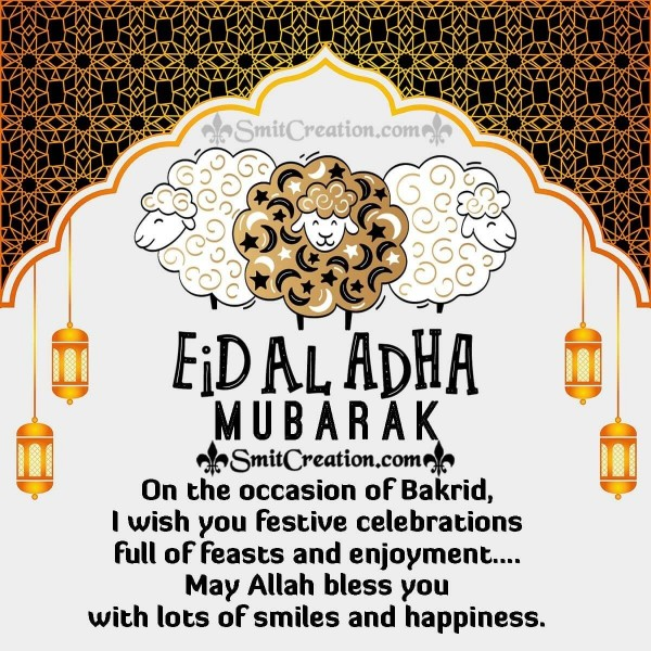 Bakrid Eid Mubarak to you!