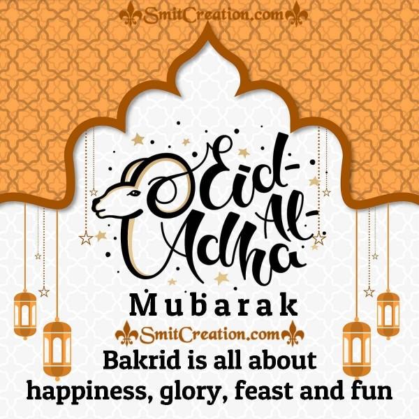 Eid al-Adha Mubarak Quote Image